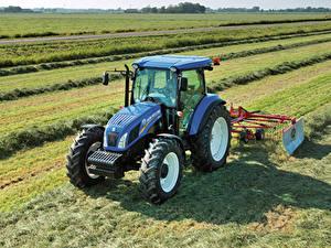 Картинка Сельскохозяйственная техника Поля Трактор 2012-20 New Holland TD5.115 Cab