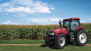 Картинки Сельскохозяйственная техника Поля Трактор 2014-19 Case IH Puma 155