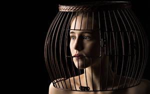 Фото Модель Взгляд Ahna Green, cage молодая женщина