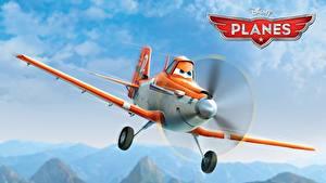 Картинка Самолеты Planes Walt Disney air race rally action adventure Dusty Мультики
