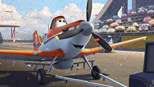 Картинка Самолеты Planes Walt Disney air race rally action adventure Dusty Мультфильмы
