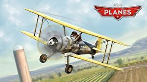Фото Самолеты Planes Walt Disney animated movie air race rally action adventure Leadbottom