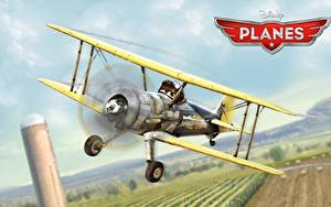 Фото Самолеты Planes Walt Disney animated movie air race rally action adventure Leadbottom мультик