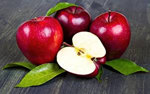 Картинка Яблоки Вблизи Пища
