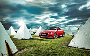 Обои Audi Родстер 2015 TT Roadster TFSI quattro S line AU-spec Автомобили