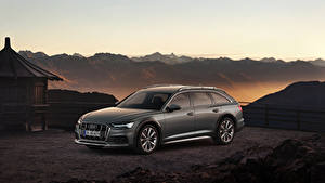 Обои Audi Металлик 2019 A6 50 TDI allroad quattro Worldwide машина