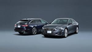 Фотографии Audi Металлик Двое Универсал A6, Avant, S Line Автомобили