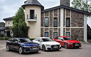 Картинки Audi Три Металлик автомобиль