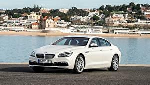 Картинка BMW Белые Металлик Седан 650i, Gran Coupe, Individual, 2015