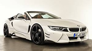 Фотография BMW Белый Родстер AC Schnitzer i8 2019