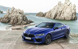 Фотография БМВ Синих 2019-21 M8 Competition Coupé Worldwide автомобиль
