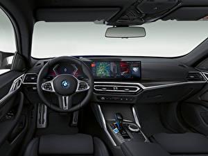 Фотография BMW Салоны Рулевое колесо i4 M50, (Worldwide), (G26), 2021 машина
