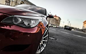Фотография БМВ Фары Бордовый Smotra E60 Автомобили