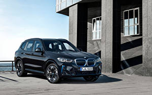 Картинка BMW Черный Металлик CUV X3 M Sport, (Worldwide), (G08), 2021 авто