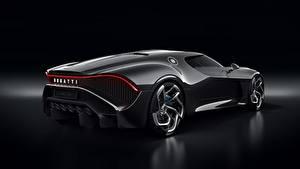 Обои BUGATTI Черная На черном фоне La Voiture Noire автомобиль