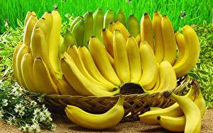 Обои Бананы Много Крупным планом