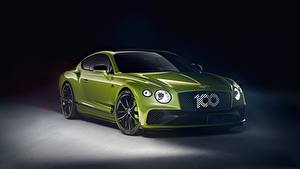 Фото Bentley Зеленый Металлик Continental GT, Limited Edition 2020 Автомобили