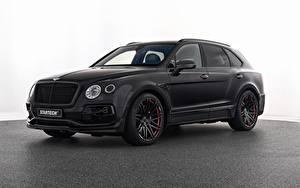 Фотографии Bentley Черный Металлик Startech, Bentayga Автомобили