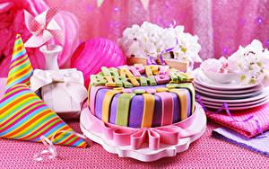 Обои День рождения Торты Праздники