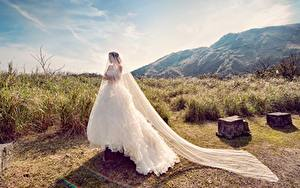 Фотография Невеста Платье молодые женщины