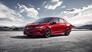 Картинки Бьюик Красный Металлик 2020 Verano GS Автомобили