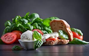 Обои Бутерброд Овощи Сыры Еда