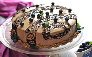 Фотографии Торты Шоколад Сладости