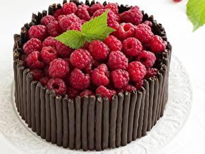 Обои Торты Малина Шоколад