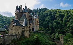 Фото Замки Леса Германия Burg ELZ, Rhineland-Palatinate