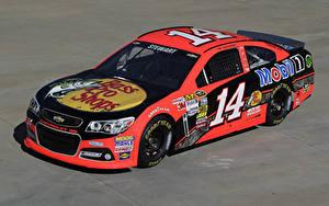 Фотографии Chevrolet Тюнинг Розовые 2013-17 SS NASCAR Sprint Cup Series Автомобили