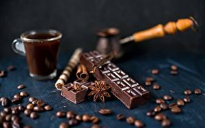 Фото Шоколад Кофе Зерна Турка
