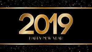 Картинки Рождество 2019 Черный фон Английский