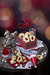 Фотография Рождество Печенье Коробки Дизайна Пища