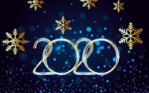 Фото Рождество Праздники Снежинка 2020