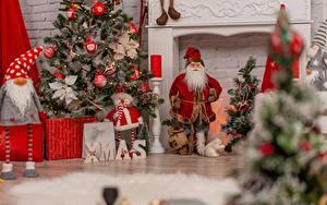 Фото Новый год Дед Мороз Новогодняя ёлка спортивная
