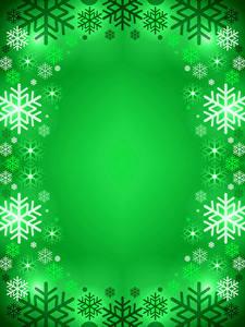 Картинки Новый год Снежинка Цветной фон Шаблон поздравительной открытки