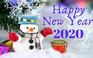 Фотографии Рождество Снеговики Текст Английский 2020