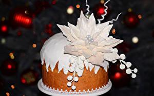 Фото Новый год Сладости Торты