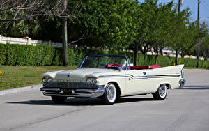 Картинка Chrysler Ретро Белые Кабриолет 1959 Windsor Convertible авто