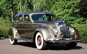 Обои для рабочего стола Крайслер Винтаж Imperial Airflow Sedan 1936 авто