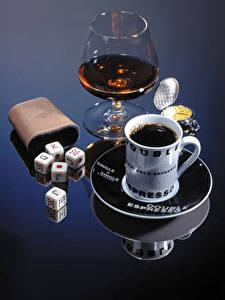 Картинки Кофе Алкогольные напитки Чашка Бокалы