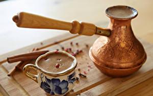 Картинка Кофе Капучино Чашка Продукты питания