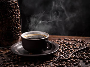 Картинка Кофе Чашке Зерно Пища