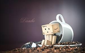 Фотографии Кофе Данбо Зерно Чашке