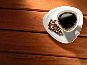 Обои Кофе Доски Чашке Зерно Блюдца Пища