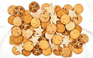 Картинки Печенье Много Дизайн Сердце Звездочки Еда