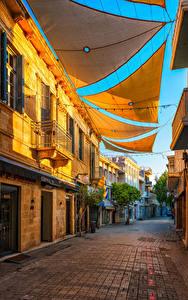 Фото Республика Кипр Здания Улица Nicosia город
