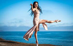 Фото Танцы Балете Ног девушка