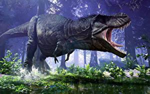 Фотографии Динозавры 3D_Графика