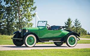 Фотографии Додж Винтаж Зеленый Металлик Кабриолет Родстер 1925 Roadster